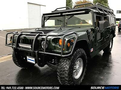 2001 Hummer H1 Base Sport Utility 4-Door 2001 Hummer H1 Wagon, Woodland Green, Turbo Diesel, Roof Rack, New Tires, Brush