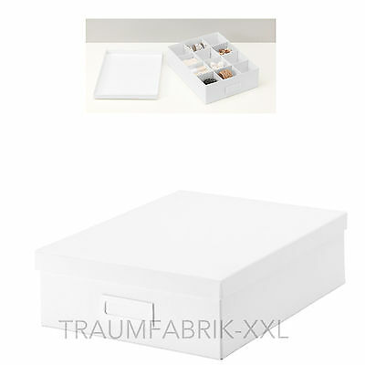 ikea motorp schachtel box kasten aufbewahrung f r cds eur 3 50 picclick de. Black Bedroom Furniture Sets. Home Design Ideas