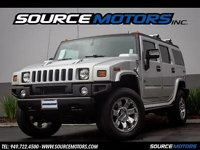2009 Hummer H2 Base Sport Utility 4-Door 2009 Hummer H2 Luxury, Leather, Navigation, AWD, Silver Ice Metallic