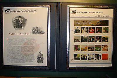 "USA 1998: USPS COMMEMORATIVE Stamp Collection ""Four Centuries of American Art"""