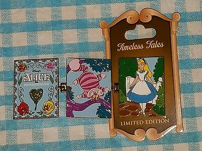 Disney Disneyland Timeless Tales Alice in Wonderland pin
