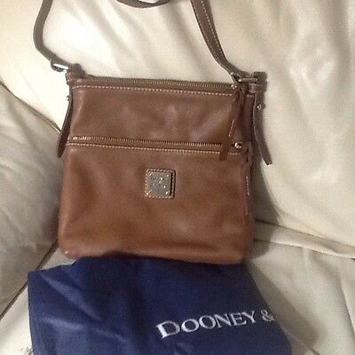dooney and bourke crossbody leather Bag, New, No Tags