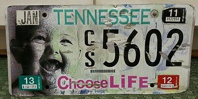 Tennessee Choose Life License Plate Baby Good Graphics