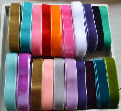 5Yards DIY Velvet Ribbon Decoration Packaging Trim Sewing Craft