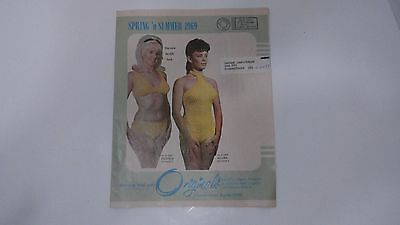 Originals Catalog Spring Summer 1969 Beachy Bikinis Lingerie Swimsuit Edition