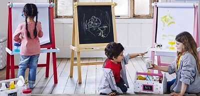 GLTC Art Easel - Available in 3 colours: Red / Pink / Natural
