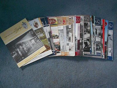 THE WAY OF THE ZEPHYR LINCOLN V-12 CLUB MAGAZINE LOT of 43 ISSUES ARTICLES INFO
