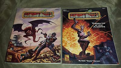Gamma World Rules 7514 (1992) & Treasures of the Ancients 7517 module GWA1 1993