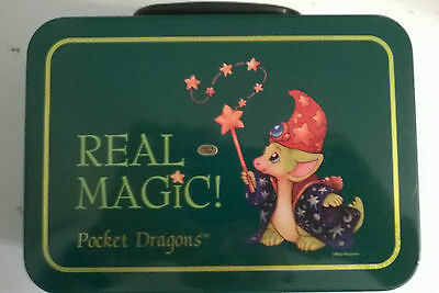 """Real Musgrave """"Real Magic"""" Pocket Dragon Collectors Lunch Box  ONLY"""