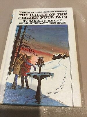 Riddle of the Frozen Fountain ~ Dana Girls ~ CAROLYN KEENE HC Nancy Drew