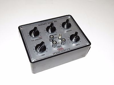 EICO Electronic Instrument Company Model 1171A Resistance Decade Box