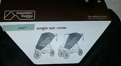 Mountain Buggy Duet Mesh Single Sun Cover, brand new, never used!!