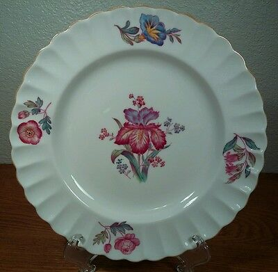 "Spode Copeland China Iris 8"" Plate(s) Made in England"