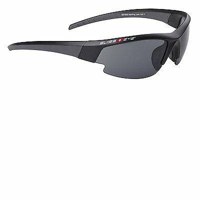 Swiss Eye Gardosa Evolution Unisex Sports Sunglass - Black Matt/Gun Metal