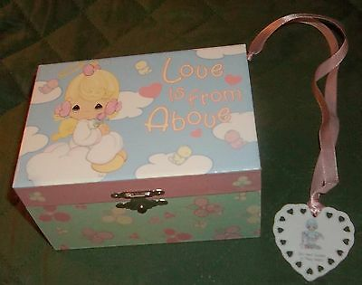 The Precious Moments Children Collection Musical Jewelry box Love is from Above&