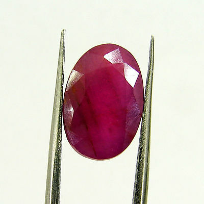 6.11 Ct Certified Natural Untreated Ruby Oval Loose Gemstone - 117837