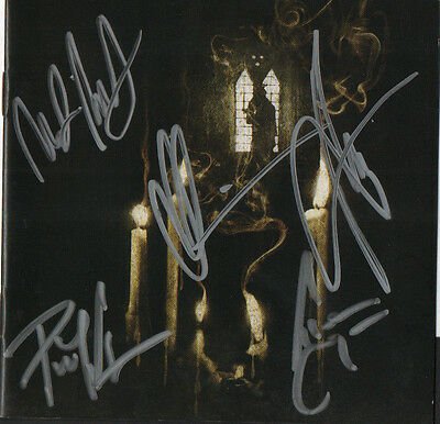 OPETH Swedish metal band REAL hand SIGNED Ghost Reveries CD by all 5 members COA