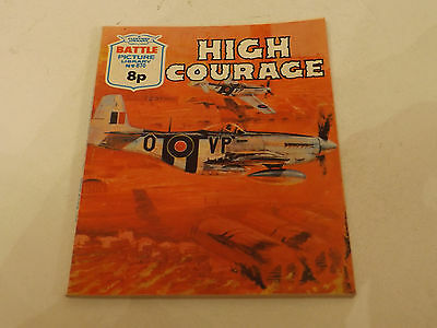 BATTLE PICTURE LIBRARY NO 870!,dated 1974!,V GOOD FOR AGE,RARE ISSUE,43 yrs old.