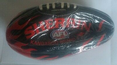 AFL SHERRIN FOOTBALL x1 (genuine leather or synthetic rubber)