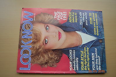 Vintage, Look Now Magazine, January 1981, Fashion and Celebrity and Lifestyle
