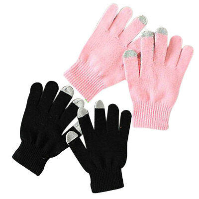 Unisex Winter Warm Capacitive Touch Screen Knit Gloves Hand Warmer Mobile Phone