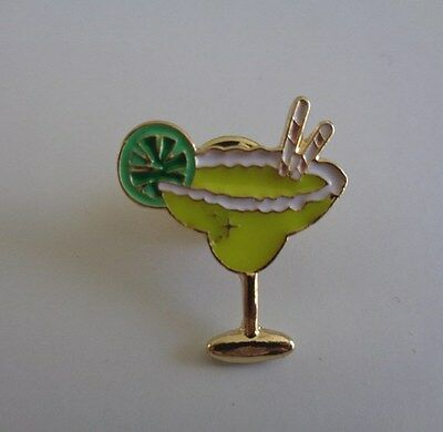 Martini cocktail pin/brooch-Aussie seller brand new in packaging