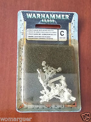 W40K Chaos Space Marine Havoc with Heavy Bolter metal - NiB OOP