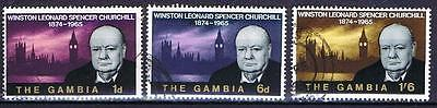 Gambia 1965 Churchill Commemoration - Used