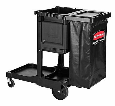 Rubbermaid Commercial 1861430 Executive Series Housekeeping Cart