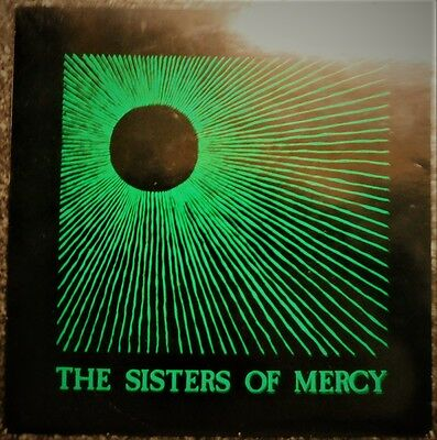 "SISTERS OF MERCY - Temple of Love  Original 1983 7"" Single - Brilliant Condition"