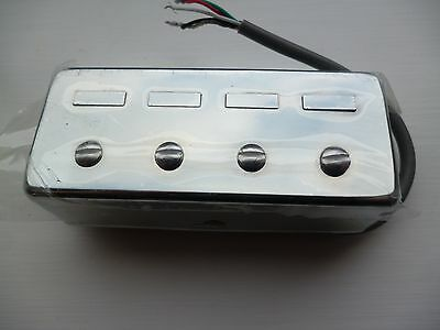 A Chrome Plated 4 String Bass Humbucker Pick Up