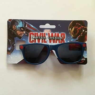 Kids Children Marvel Civil War Accessory Boys Sunglasses One Size