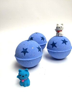 Bath bomb with a toy, natural bath products, handmade , gift idea