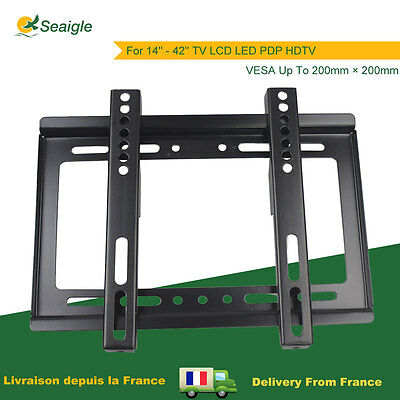 Support Mural TV Wall Mount Pas Cher Fixation 14'' - 42'' LCD LED PDP VESA 200
