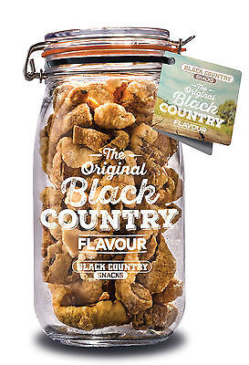 KILNER Pork Crackling Jars - Choose From 13 Amazing Flavours of Pork Scratchings
