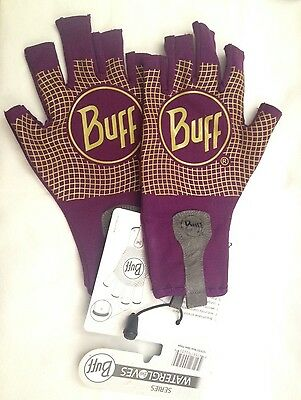 Buff Sport Series SPF50 Water Gloves 15279 XS/S - 7/8 Purple - Multi Sports Use