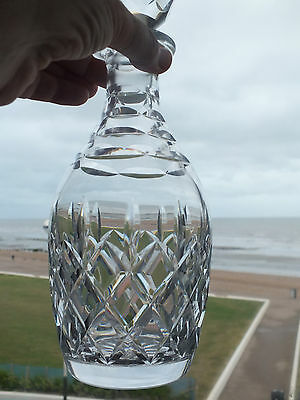 Royal Doulton Heavy Crystal Glass Decanter (ref 39)