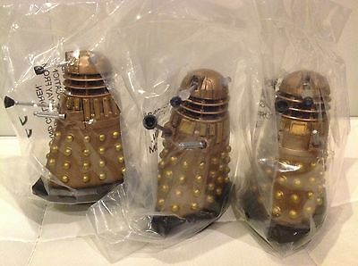 3 NSD DALEK 3.75 Inch Scale Figures SEALED NEW DOCTOR DR WHO
