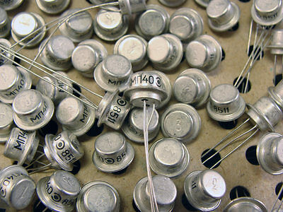 MP40 / OC76 Vintage Soviet Germanium PNP transistor - 1000pcs