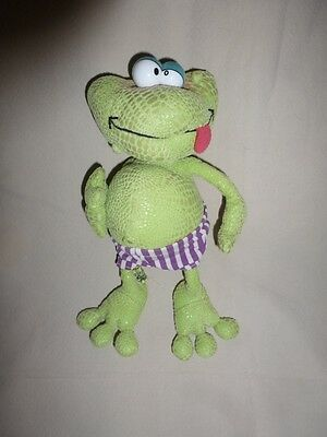 Peluche Diddl Grenouille Frogs brothers Fratt TRES RARE TBE 25cm