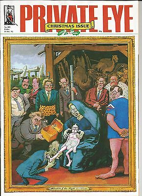 Private Eye Magazine # 809 18 December 1992 Conservative Cabinet Christmas Cover