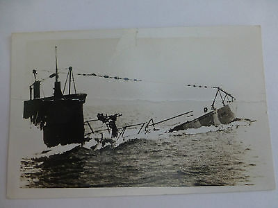 USA Submarine ? - Old Delaware Postcard