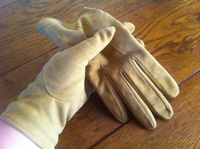 ladies suede gloves fully lined
