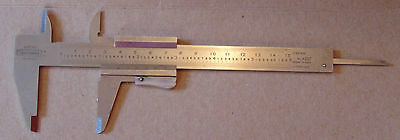 CRAFTSMAN-Italy #40257 Hardened Stainless Vernier Caliper with Depth Probe-150mm