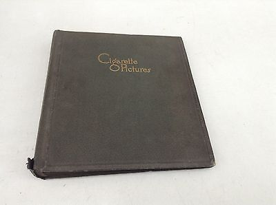 Vintage Cigarette Pictures Album, Grey, 30 Pages, Empty, Holds 120 Picture Cards