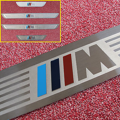 For BMW M X5 X6 E70 E71 E72 High Quality Stainless Steel Door Sill Scuff Plate