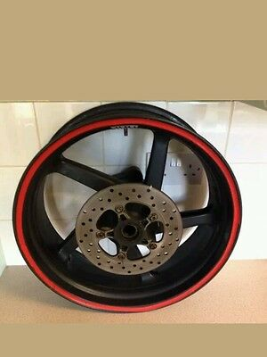 Aprilia RSV & RSVR Rear Wheel With Matching Brake Disc... Mint Condition