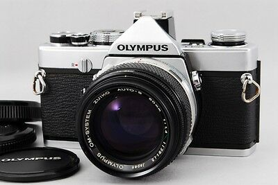 Excellent+++  Olympus OM-1 with Auto s 50mm f1.4 from Japan #037