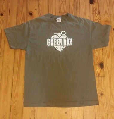 Green Day T Shirt Adult Size Large