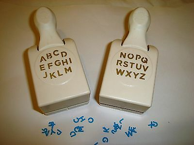 Martha Stewart Alphabet Punches  **Craft Clear Out**